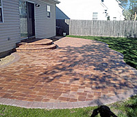 Concrete Interlocking Pavers for Driveways, Floors and Patios