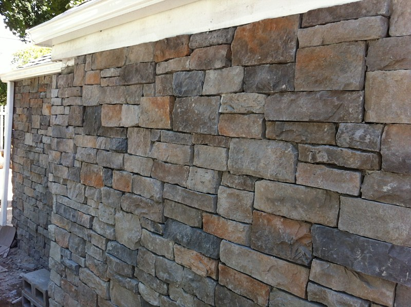 Garden Wall Facade : Patio photos paver wall hicksville