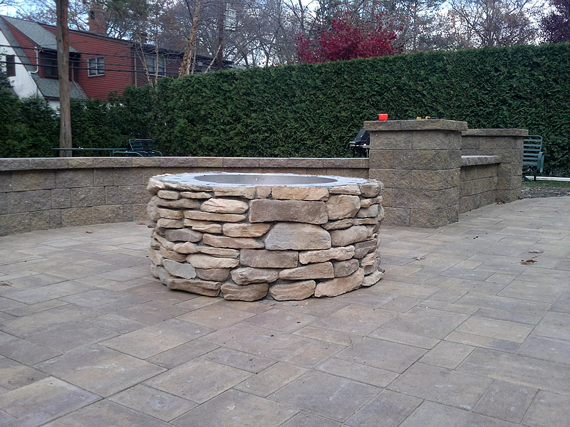 outdoor fireplaces fire pits firepits hempstead new