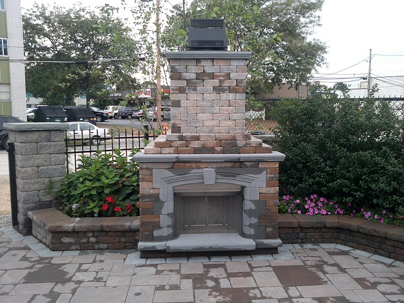 Outdoor Patio Fireplace Ideas